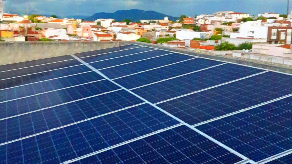 projeto de energia solar no Centro Educacional Evolução