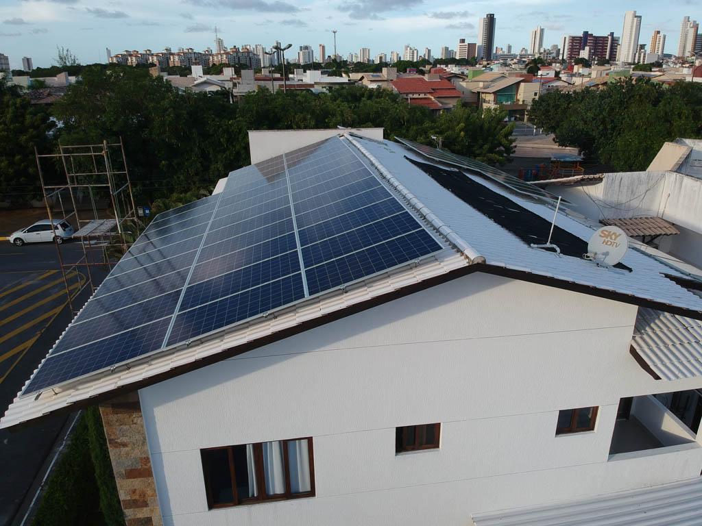 Energia solar em residências