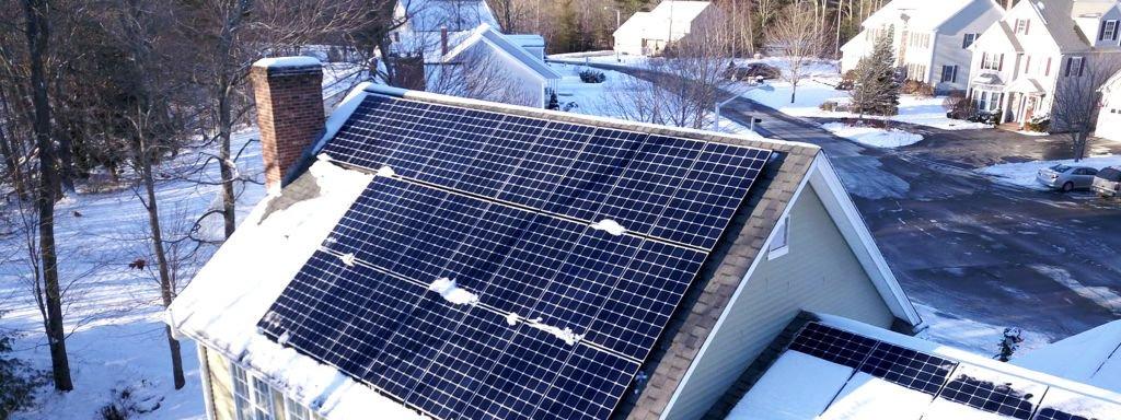 Energia solar no inverno