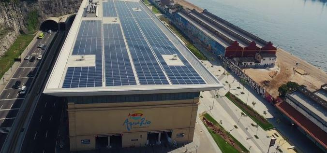 o maior telhado solar do Rio de Janeiro
