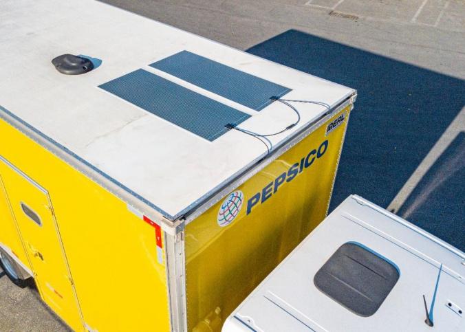 PEPSICO Energia solar OPV