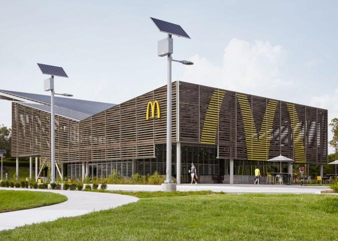McDonalds energia solar