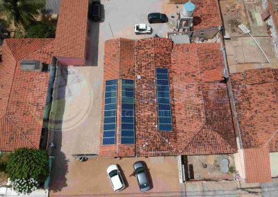 Projeto de energia solar cliente comercial Poço Branco/RN