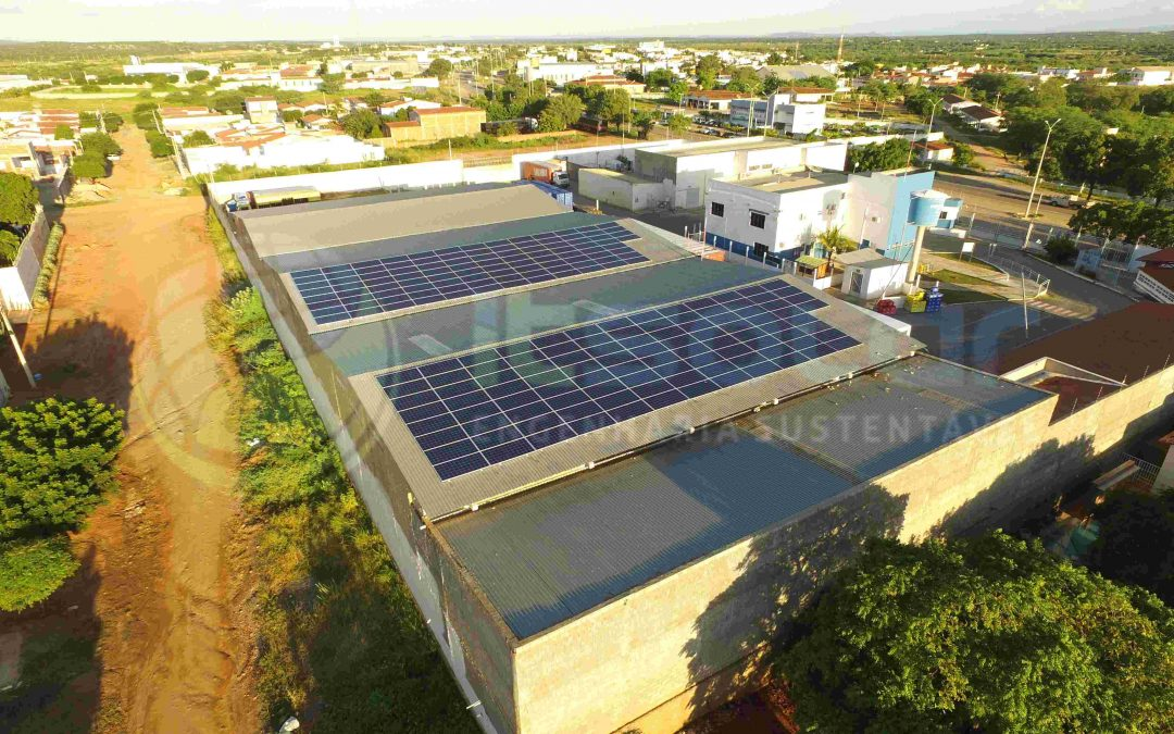 Projeto de energia solar cliente empresarial Caicó/RN