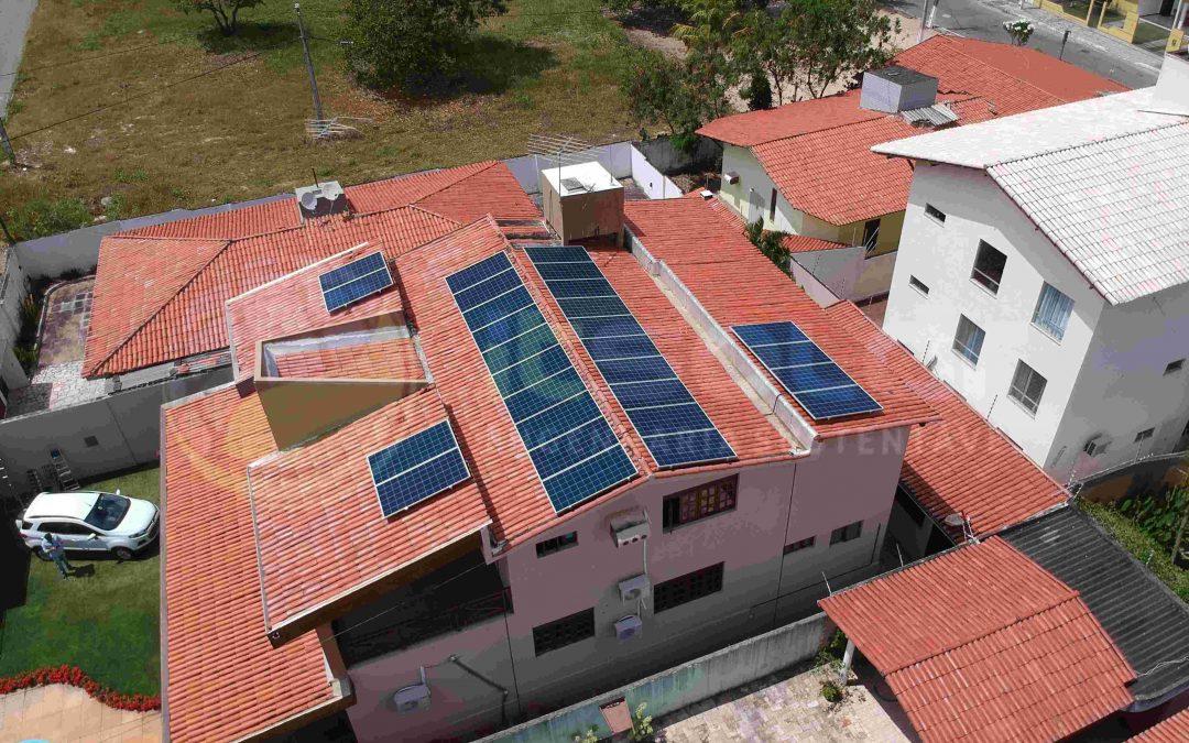 Projeto de energia solar cliente residencial