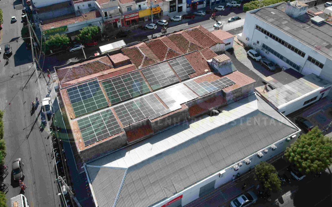 Projeto de energia solar cliente comercial Caicó/RN