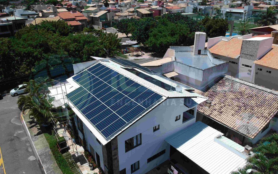 Projeto de energia solar cliente residencial Natal/RN