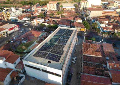 Projeto de energia solar em indústria Pau dos Ferros/RN